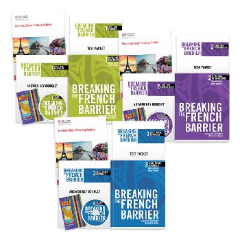 Breaking the French Barrier Levels 1-3 Package