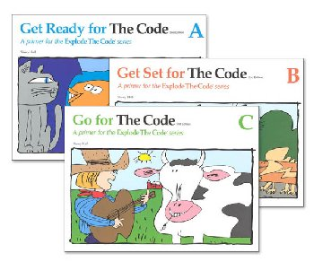 Explode the Code A-C Workbook Bundle (2nd Edition)