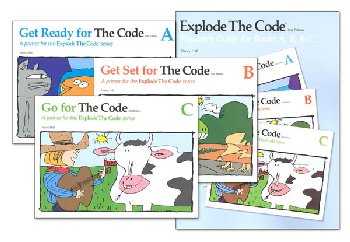 Explode the Code A-C Bundle with Teacher Guide (2nd Edition)