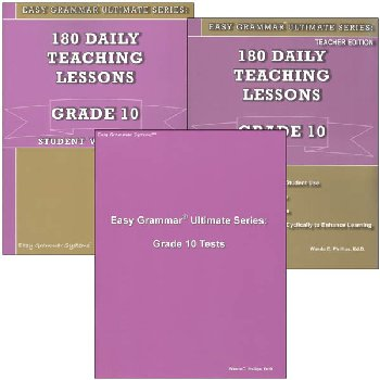 Easy Grammar Ultimate Series Grade 10 Set