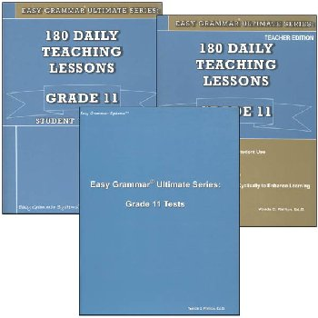 Easy Grammar Ultimate Series Grade 11 Set