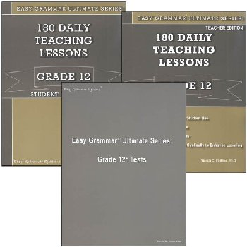 Easy Grammar Ultimate Series Grade 12 Set