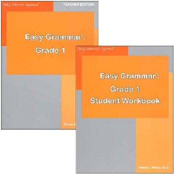 Easy Grammar Grade 1 Set