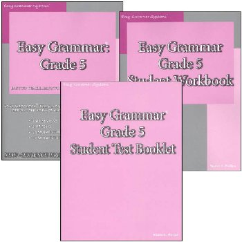 Easy Grammar Grade 5 Set