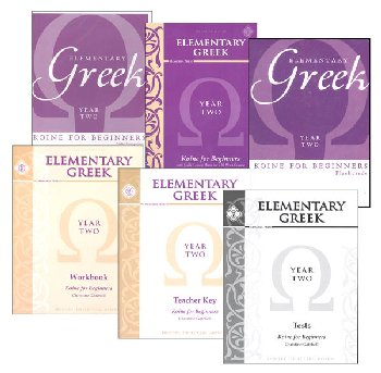 Elementary Greek Koine for Beginners - Year 2 Set