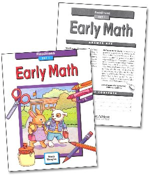 Early Math Set 1: Readiness Workbook & Key