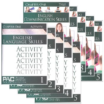 English Grammar Skills Text & Activities Package (Chapters 1-5)