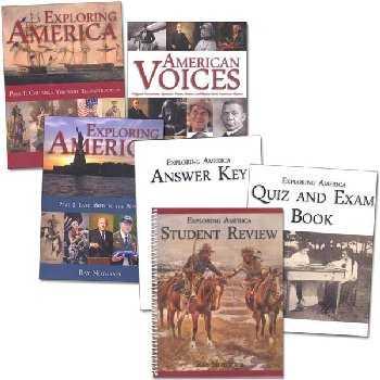 Exploring America Package with Quiz & Exam Book