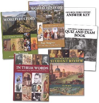 Exploring World History Package with Quiz & Exam Book