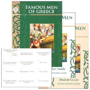 Famous Men of Greece Set (Book, Student, and Teacher)
