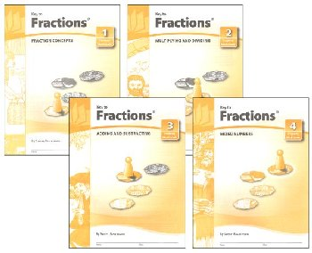 Key to Fractions complete set workbooks only