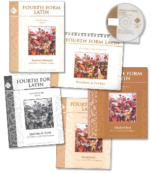 Fourth Form Latin Text Set