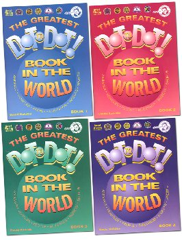 Greatest Dot-to-Dot Book in the World Set of Books #1-4