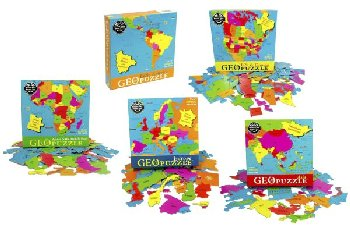 Set of 5 Continent Geopuzzles
