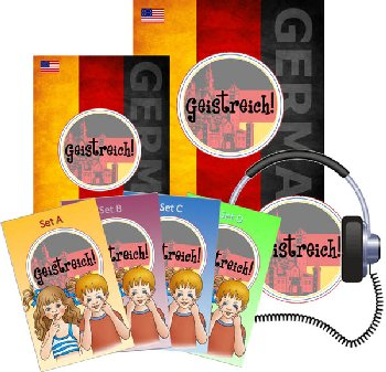 Geistreich! German Level 1 Full Bundle (Brilliant Foreign Languages)