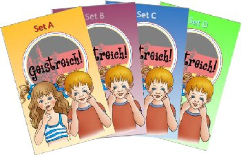 Geistreich! German Level 1 Flashcards Set A-D (Brilliant Foreign Languages)