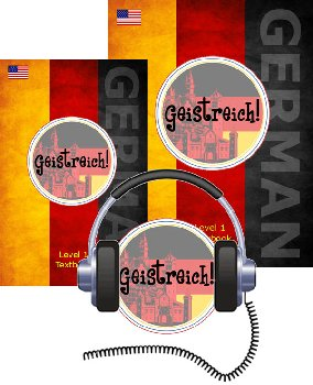 Geistreich! German Level 1 Light Bundle (Brilliant Foreign Languages)
