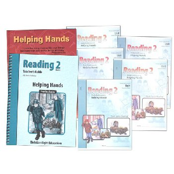 Helping Hands Reading 2 Complete Set Sunrise 2nd Edition