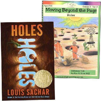 Holes Literature Unit Package