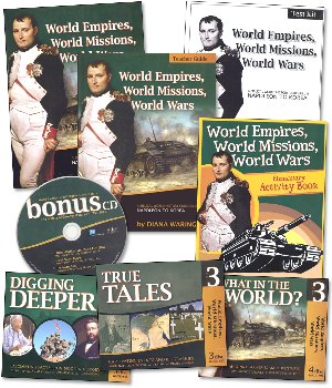 History Revealed: World Empires, World Missions, World Wars - Full Family Curriculum Pack
