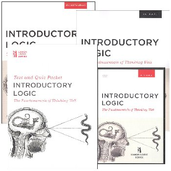 Introductory Logic: The Fundamentals of Thinking Well Homeschool Package (with DVD Set)