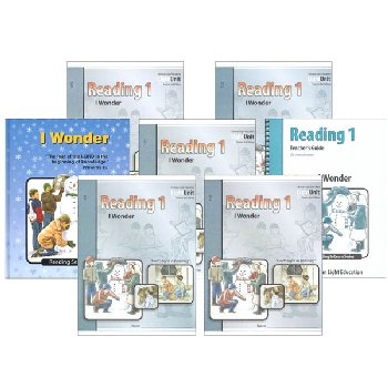 I Wonder Reading 1 Complete Set Sunrise 2nd Edition