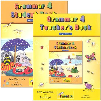 Jolly Grammar 4 Set