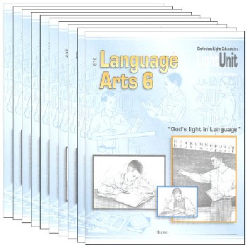 Language Arts LightUnit 601-610 Set Sunrise Edition