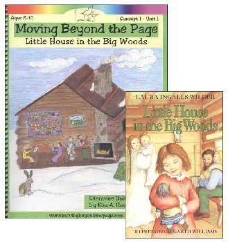Little House in the Big Woods Literature Unit Package