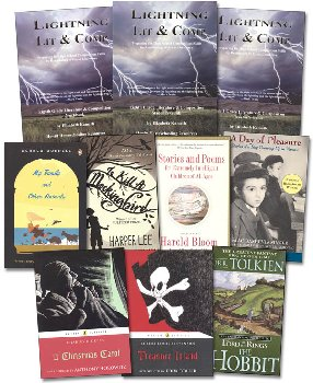 Lightning Lit & Comp Eighth Grade Pack with Stories and Poems