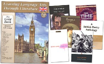 Learning Language Arts Through Literature Complete Package Gold - British Literature