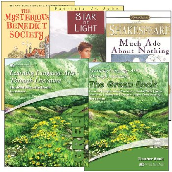 Learning Language Arts Through Literature Complete Package Green