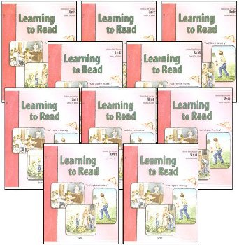Learning to Read LightUnits Only Set Sunrise 2nd Edition