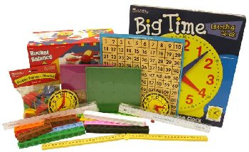 Manipulative Kit 1 (Basic Plastic Pattern Blocks, Optional Items)