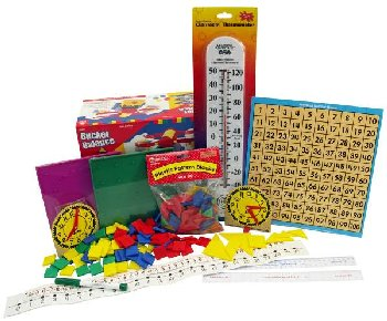 Manipulative Kit 2 (Basic Plastic Pattern Blocks, NO Optional Items)