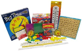 Manipulative Kit 2 (Basic Plastic Pattern Blocks, Optional Items)