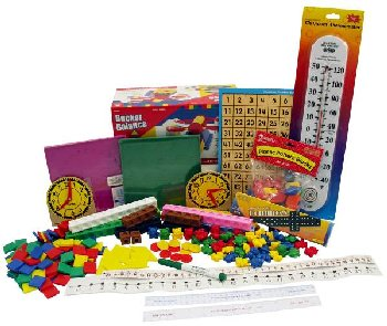 Manipulative Kit K-3 (Basic Plastic Pattern Blocks, NO Optional Items)