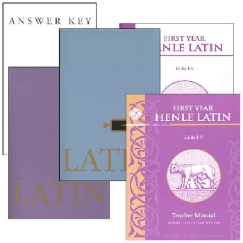 Henle Latin I Units I-V Set