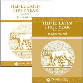 Henle Latin I Units VI-XIV Set Second Edition