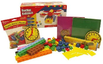 Manipulative Kit K (Basic Plastic Pattern Blocks, NO Optional Items)