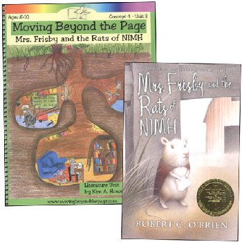 Mrs. Frisby and the Rats of NIMH Literature Unit Package