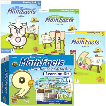 Meet the Math Facts +/- Complete Package