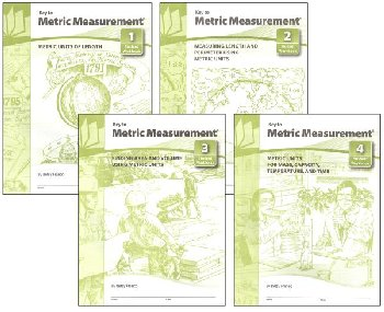 Key to Metric Measurement Set of Four Workbks