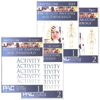 Principles of Anatomy & Physiology Text & Activities Package (Chapters 1-6)