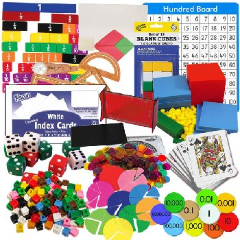 Primary Math US Level 4 Manipulatives Package
