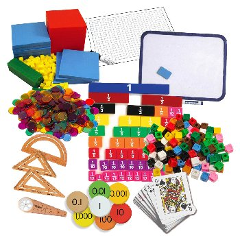 Primary Math US Level 5 Manipulatives Package