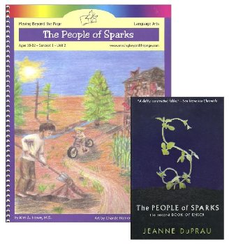 People of Sparks Literature Unit Package