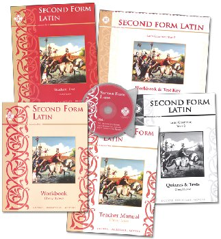 Second Form Latin Text Set
