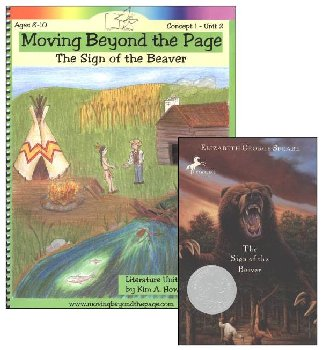 Sign of the Beaver Literature Unit Package