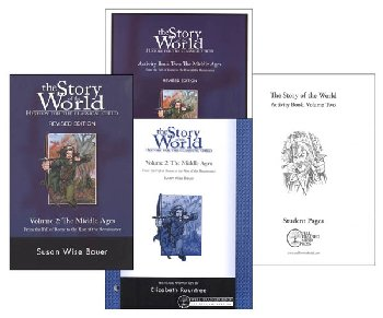 Story of the World Volume 2 Combo Pack